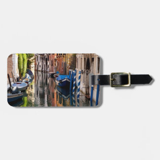 Canal in the Morning Luggage Tag