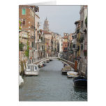 Canal in Venice, Italy Stationery Note Card