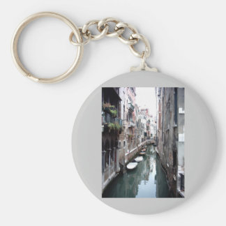 Canal in Venice Key Ring