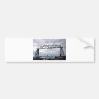 Canal Park Aerial Lift Bridge Bumper Sticker