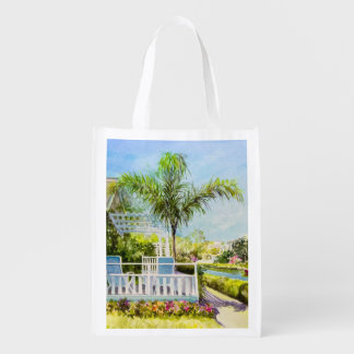 Canal Patio Reusable Grocery Bag