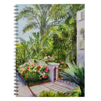 Canal Rose Garden Notebook