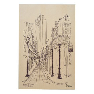 Canal Street | New Orleans, Louisiana Wood Print
