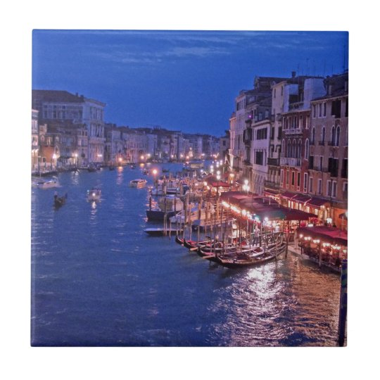 Canale Grand in Venice Italy Tile