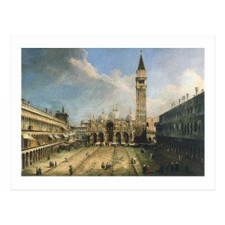 Canaletto Piazza San Marco Fine Vintage Postcard