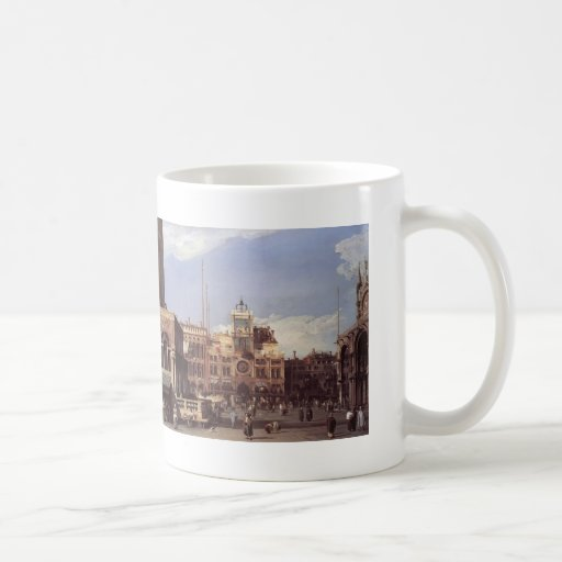 Canaletto- Piazza San Marco, the Clocktower Coffee Mugs