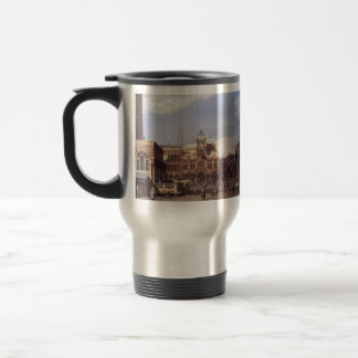 Canaletto- Piazza San Marco, the Clocktower Stainless Steel Travel Mug