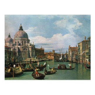 Canaletto,The Grand Canal (1730) Postcard