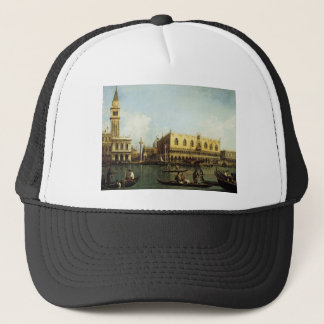 Canaletto The Pier Trucker Hat