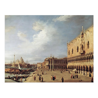 Canaletto- View of the Ducal Palace Postcard