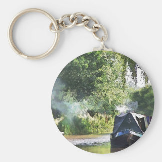 CANALS BASIC ROUND BUTTON KEY RING