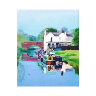 CANALS STRETCHED CANVAS PRINTS