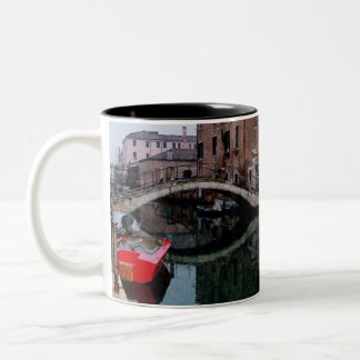 Canals of Venice II Two-Tone Mug