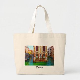 Canals  of Venice, Venice Large Tote Bag