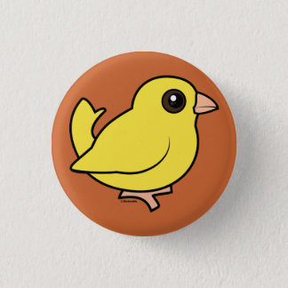 Canary 3 Cm Round Badge