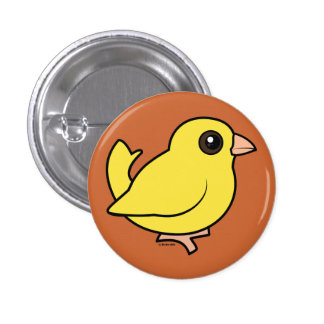 Canary Pinback Button