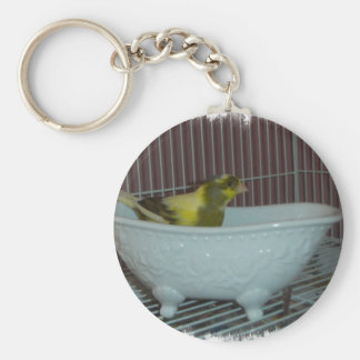 Canary bath basic round button key ring