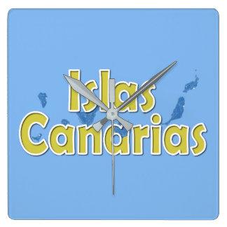 Canary Islands Clocks