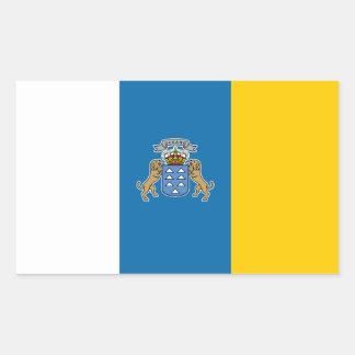 Canary* Islands Flag Sticker