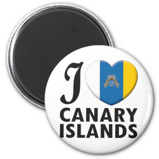 Canary Islands Love Magnet