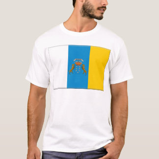 Canary Islands (Spain) Flag T-Shirt