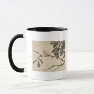 Canary on an Oak Tree Branch Mug