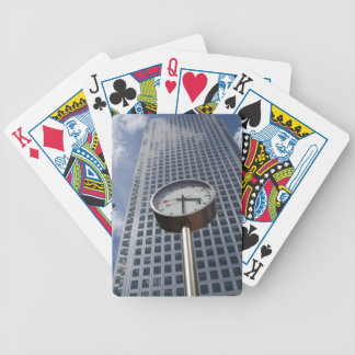 Canary Wharf Bicycle Playing Cards