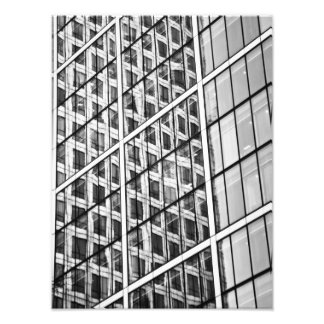 Canary Wharf London Abstract Photo Print