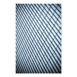 Canary Wharf London Abstract Photo Print