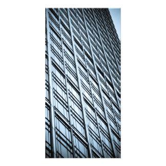 Canary Wharf London Abstract Photo Cards