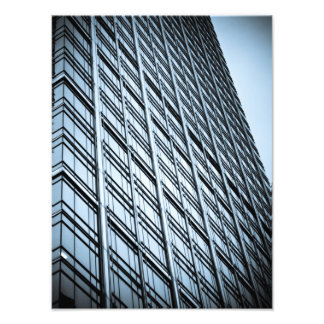 Canary Wharf London Abstract Photograph