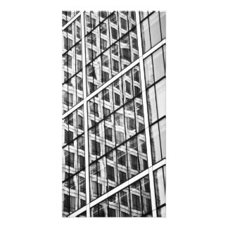 Canary Wharf London Abstract Picture Card