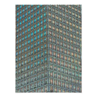 Canary Wharf London Art Photographic Print