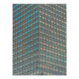 Canary Wharf London Art Photo Print