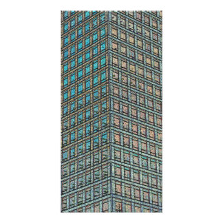 Canary Wharf London Art Photo Greeting Card