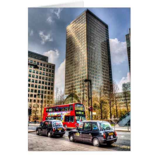 Canary Wharf London Card