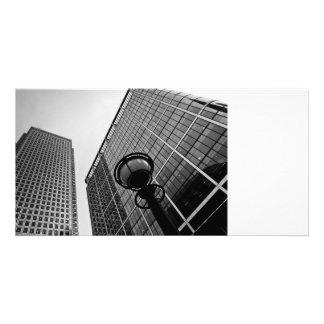 Canary Wharf London Customized Photo Card