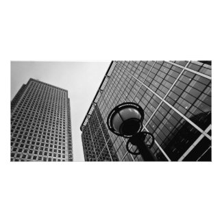 Canary Wharf London Personalized Photo Card