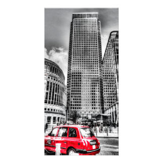 Canary Wharf London Personalised Photo Card
