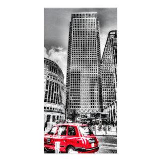 Canary Wharf London Personalised Photo Card