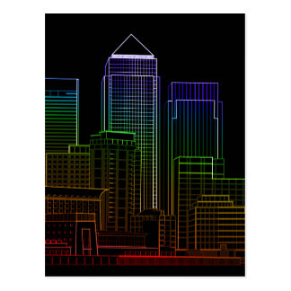 Canary Wharf - London Postcard
