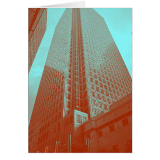 Canary Wharf (no message) Card