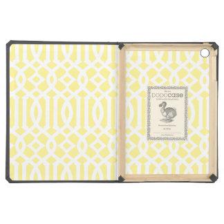 Canary Yellow Trellis | iPad Dodo Case Case For iPad Air