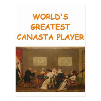canasta joke 2 postcard