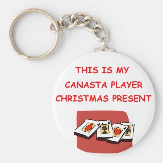 CANASTA KEY RING