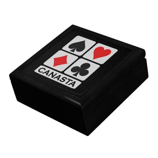Canasta Player gift box