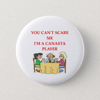CANASTA.png 6 Cm Round Badge