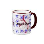 Canasta Queen 4 Ringer Coffee Mug