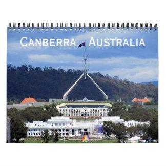 canberra 2018 calendars