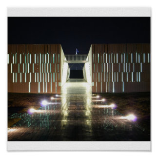 Canberra At Night Posters